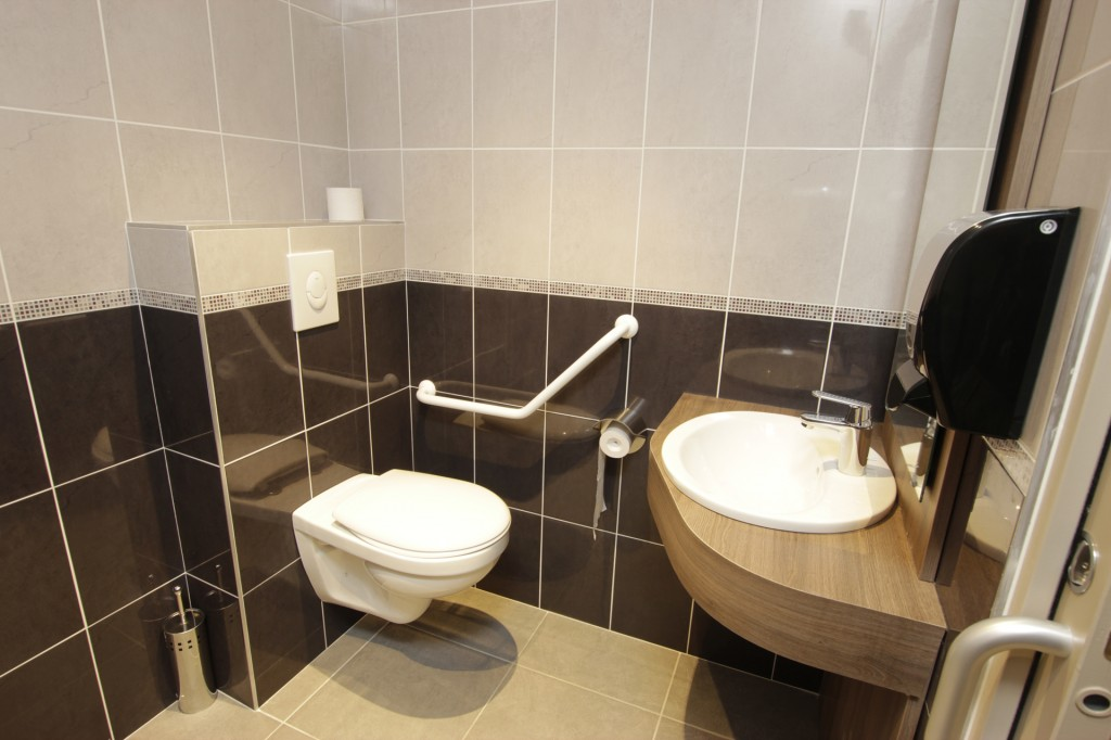 WC publics de l'Hôtel Cheops