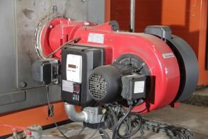 Installation d'un brûleur gaz WEISCHAUPT de 700 Kw