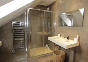 Salle de bain chez un particulier