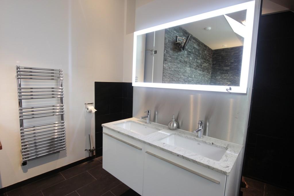 Salle de bain chez particulier jou plomberie chauffage - Porcelanosa salle de bain ...